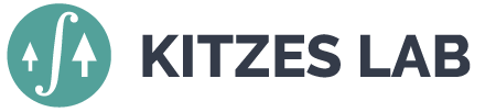 The Kitzes Lab Retina Logo